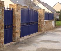 Portail, portillon et clôture installés sur Magny en Vexin 95