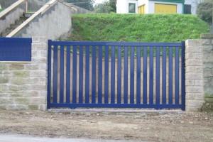 Installation de portails battants et coulissants en aluminium marque Cadiou oise 60