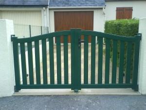 pose de portails en aluminium ajourés sur beauvais 60, Gisors 27, Rouen 76