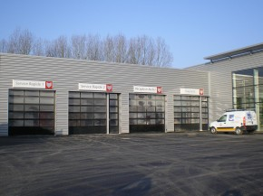 Portes industrielles portails automatismes cl ture a2p for Porte de garage astec