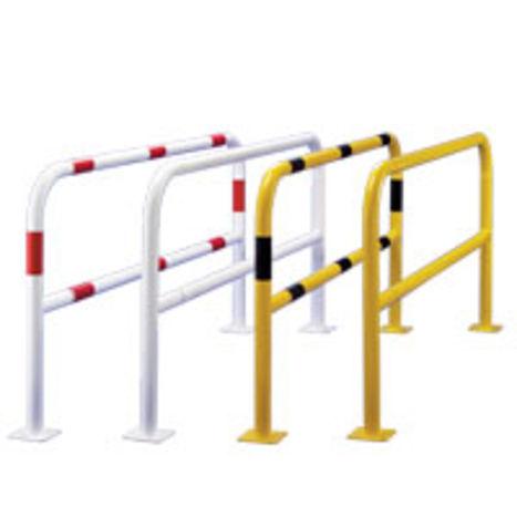 Pose de barrieres de sécurité, afin d'empêcher l'accès aux zones de danger